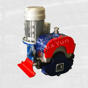 water and wastewater peristaltic hose pump